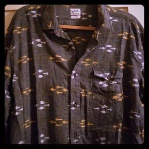 Lucky Brand Shirts - Lucky mosaic button down